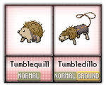 #012 - #013 Tumblequill / Tumbledillo