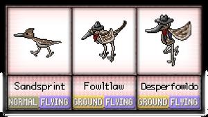 #014 - #016 Sandsprint / Fowltlaw / Desperfowldo