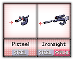 #020 - #21 Pisteel / Ironsight