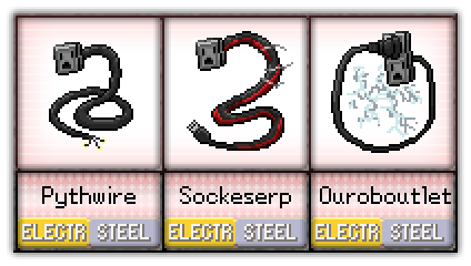 #32 - #34 Pythwire / Sockeserp / Ouroboutlet