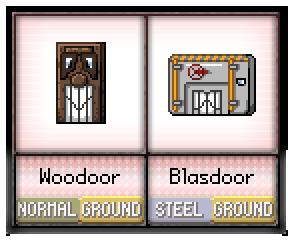 #47 - #48 Woodoor / Blasdoor