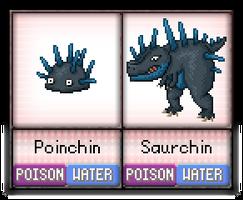 #50 - #51 Poinchin / Saurchin