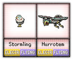 #56 - #57 Stormling / Hurrotem