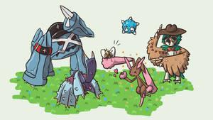 My Pokemon Ultra Sun Team