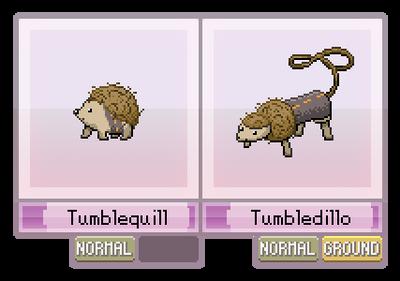 #012 - #013 : Tumblequill, Tumbledillo