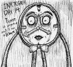INKTOBER Day 14 - Clock