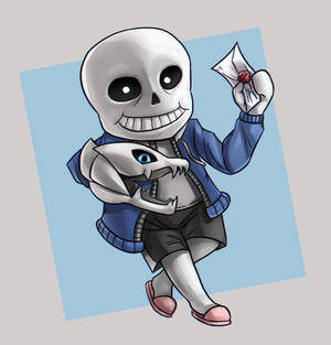 Sans is in smash