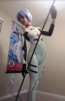 Latex Bodysuit - Rei Ayanami by FabulousZombieLuka