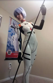 Latex Bodysuit - Rei Ayanami
