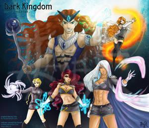 Dark Kingdom  female Dark by Lucithea