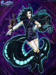 Ao no Exorcist : OC - Azury Nogitsune by Lucithea