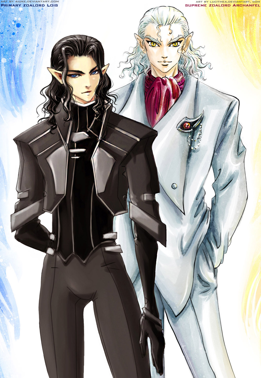 brothers Zoalords - yin and yang by Lucithea