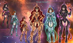 OC - Sailor Guyvers by Lucithea