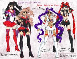 SM arttrade - two Anti-senshi by Lucithea