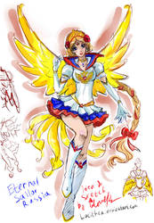 Eternal Sailor Russia - sketch by Lucithea