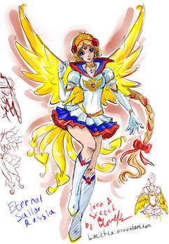 Eternal Sailor Russia - sketch