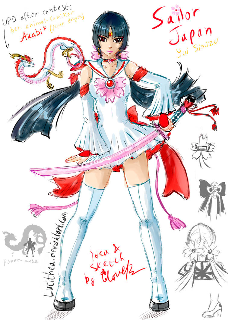 SailorJapan for contest - winner by Lucithea