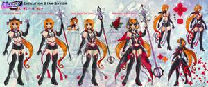 SMA: Star-Savior - evolution ref by Lucithea