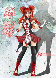 SM: Sailor RedClover [me as sailor] by Lucithea