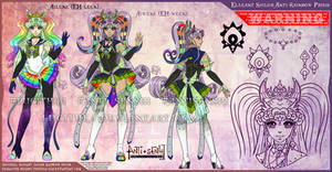 YCH-Anti: Elegant Sailor Rainbow Prism by Lucithea