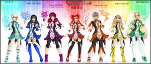 Concordia-Senshi [-Prism-Team-] self-senshi by Lucithea