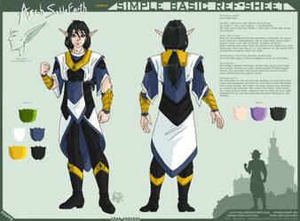 YCH-SBRS: -SC- Arch SableEarth - noble by Lucithea