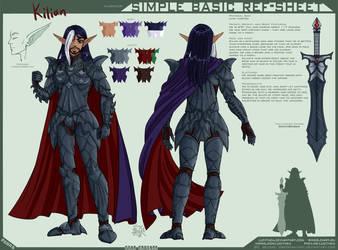 YCH-SBRS: -SC- Kilian - warrior by Lucithea