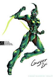 Basic[fullcolor]:OC: Guyver Zwei by Lucithea