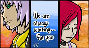 KH - Always waiting for you...