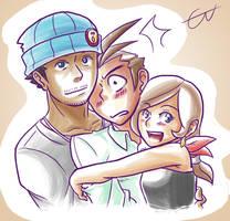 Family hug by S2En-JayS2