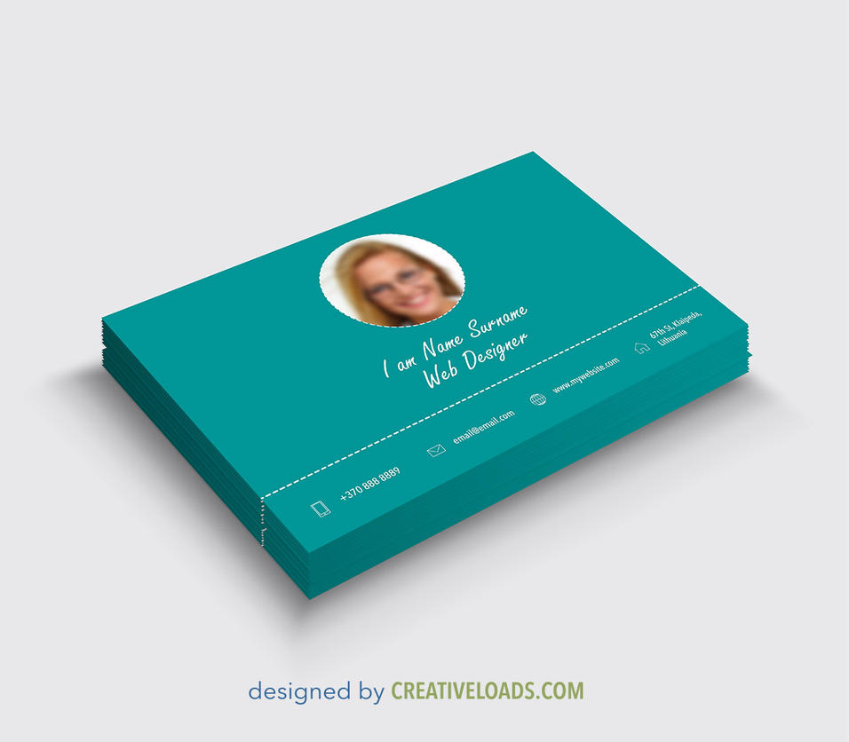 3d business card mockup by roberis on deviantart for Business card 3d template