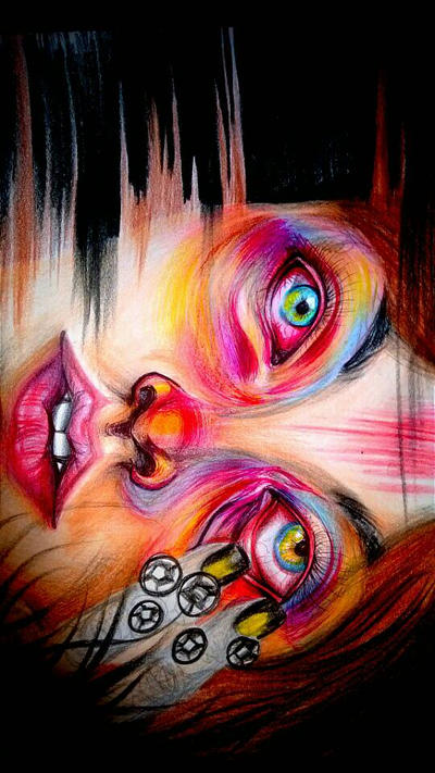 Surrealism with Colours . by Valeria16s