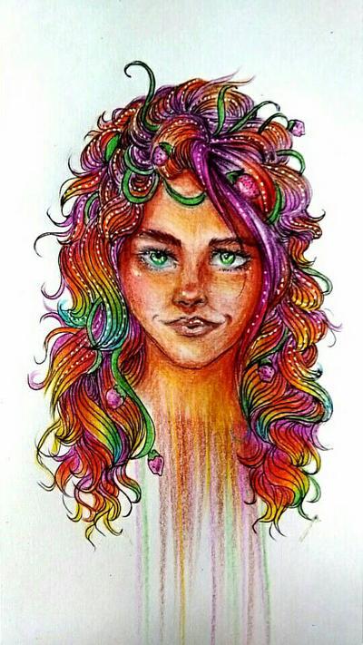 Strawberry Hair  by Valeria16s