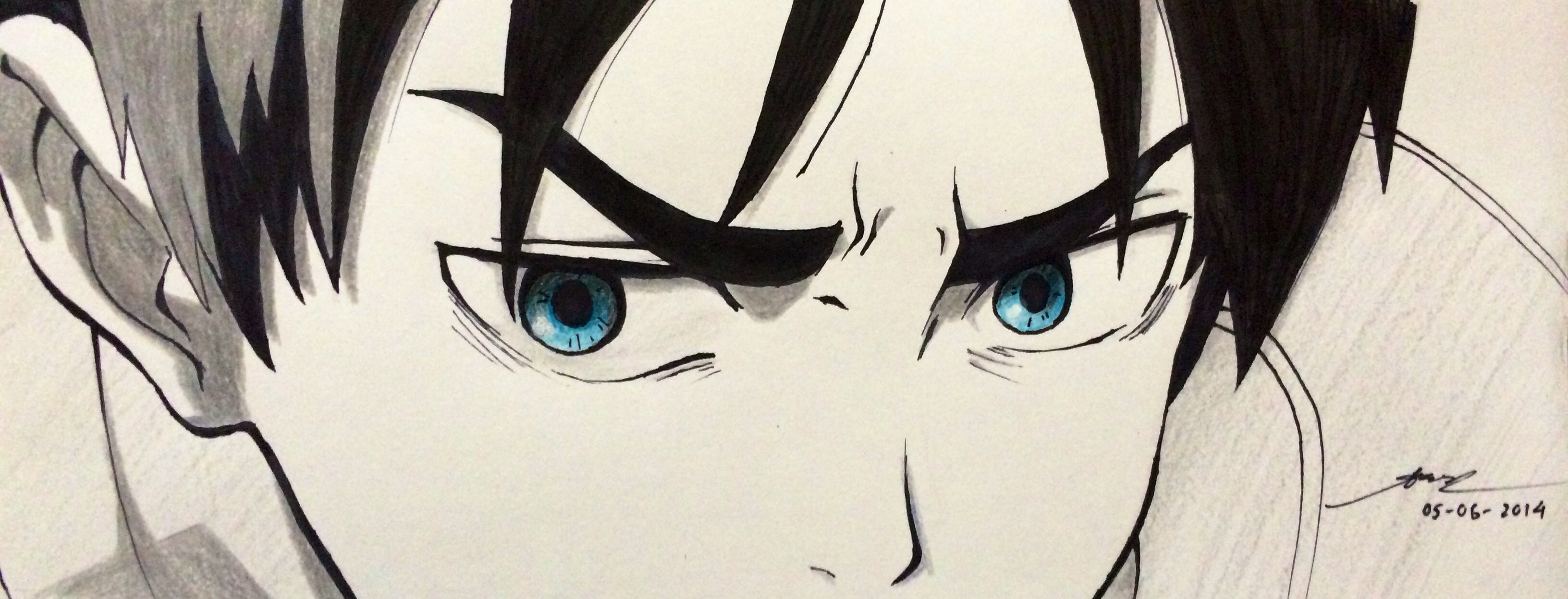 Attack on Titan - Eren Jaeger Eyes by AoiCancerius on ...