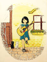 Be a Guitarist by AoiCancerius