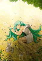 Little Sleepy Angel by AoiCancerius