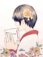 Book Addict by AoiCancerius