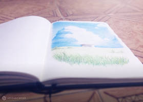 Quick Sketch with Colored Pencils [01] by AoiCancerius