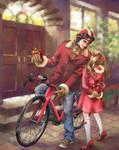 merry christmas 2012 by harakirimushi