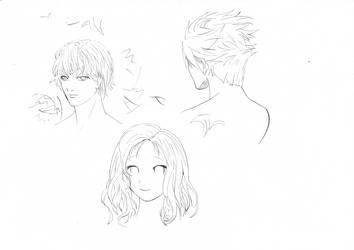 Dip pen sketch 2