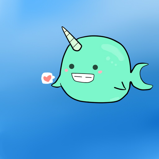 Rainbow Animated Narwhals Cute Animated Narwhal ...
