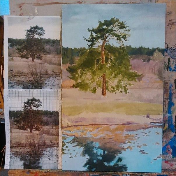 pine-tree/ work in progress by Sdoba
