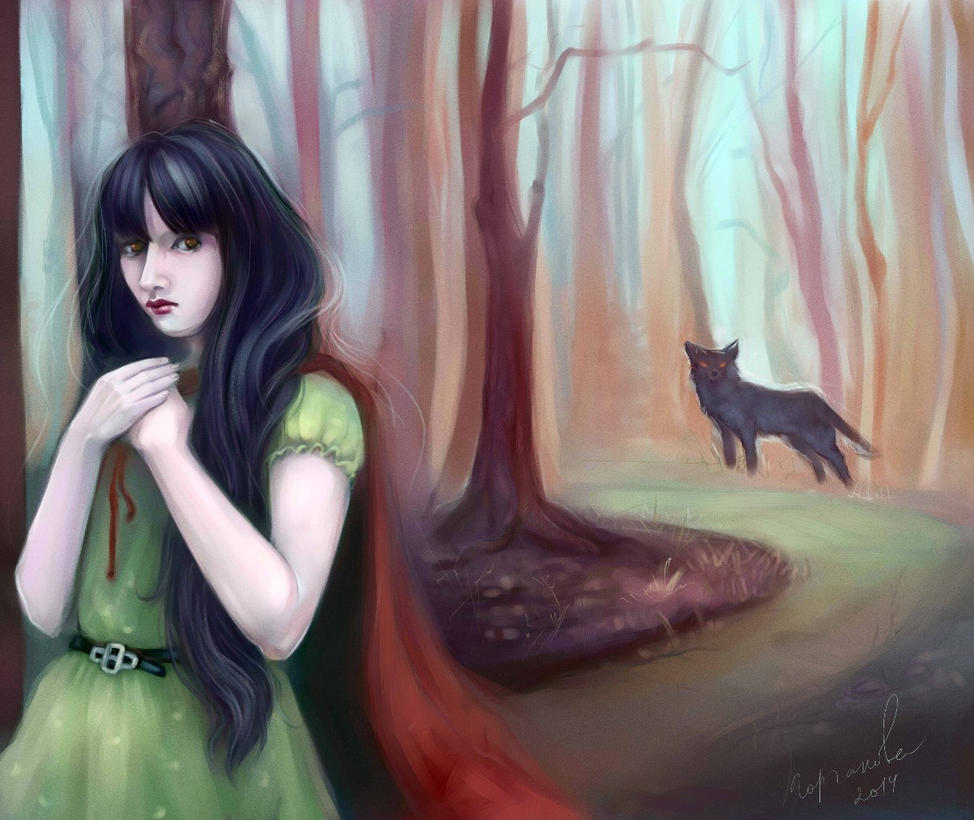 little red riding hood by Sdoba