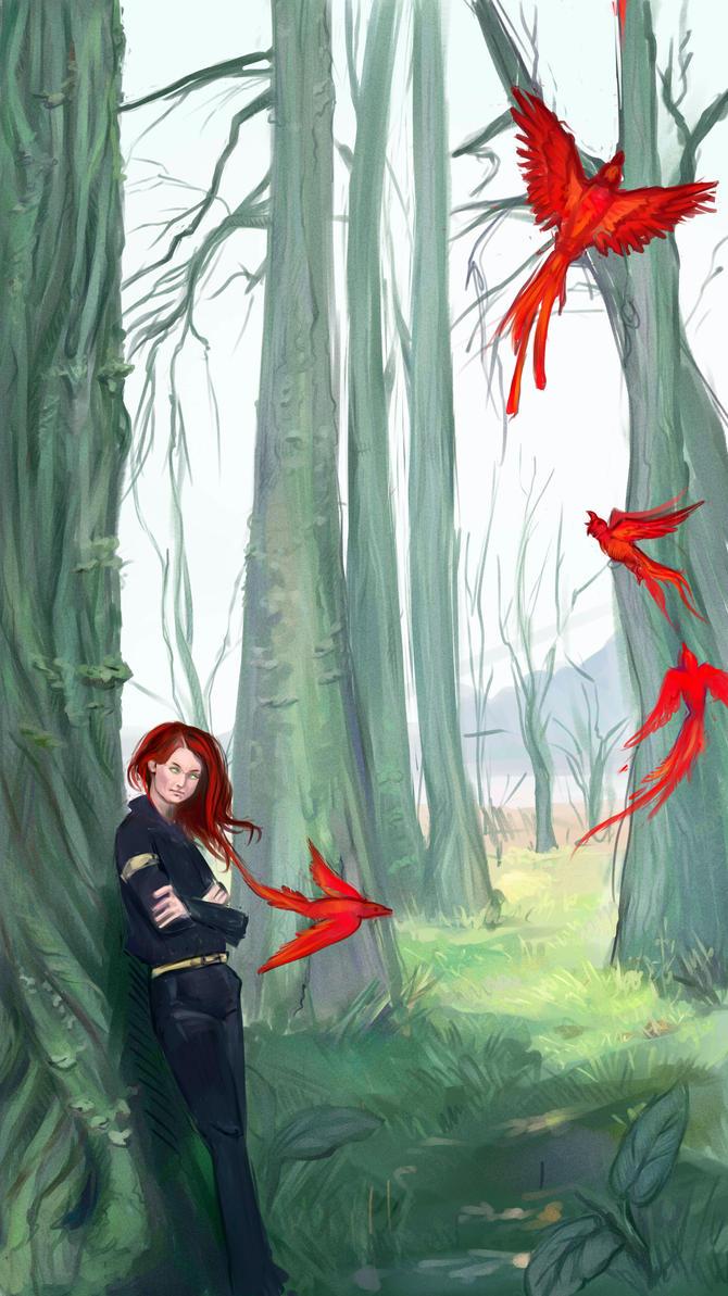 red birds by Sdoba