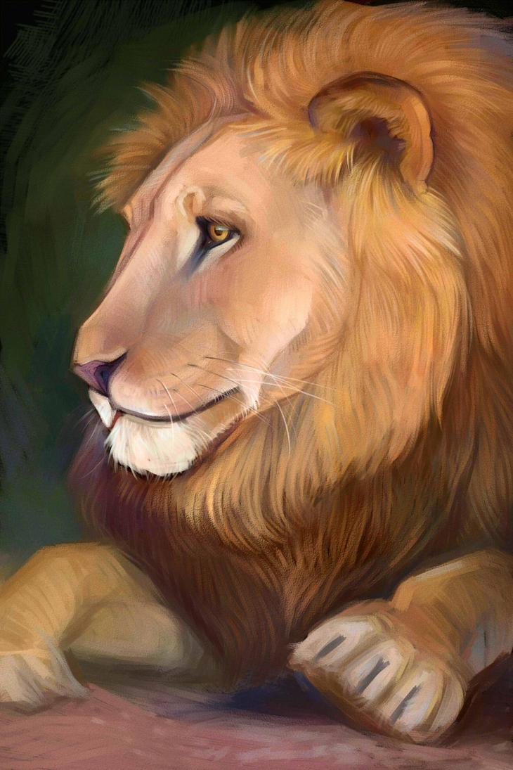lion by Sdoba