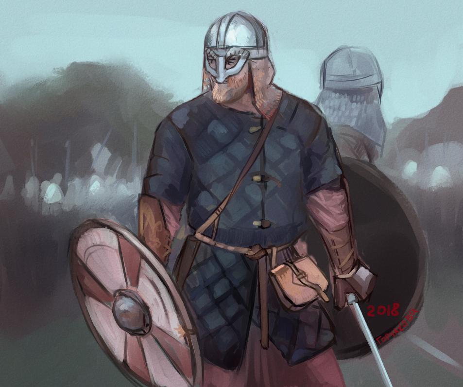 warrior by Sdoba