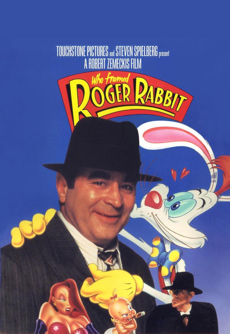 who framed roger rabbit movie poster by expofever on DeviantArt