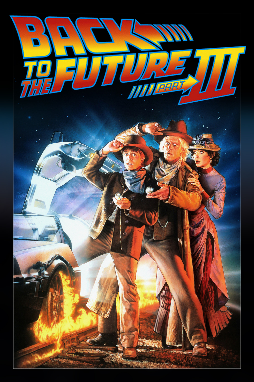 back_to_the_future_part_iii_1990_movie_poster_by_expofever-d7toroi - back to the future - Showbiz & Celebrity