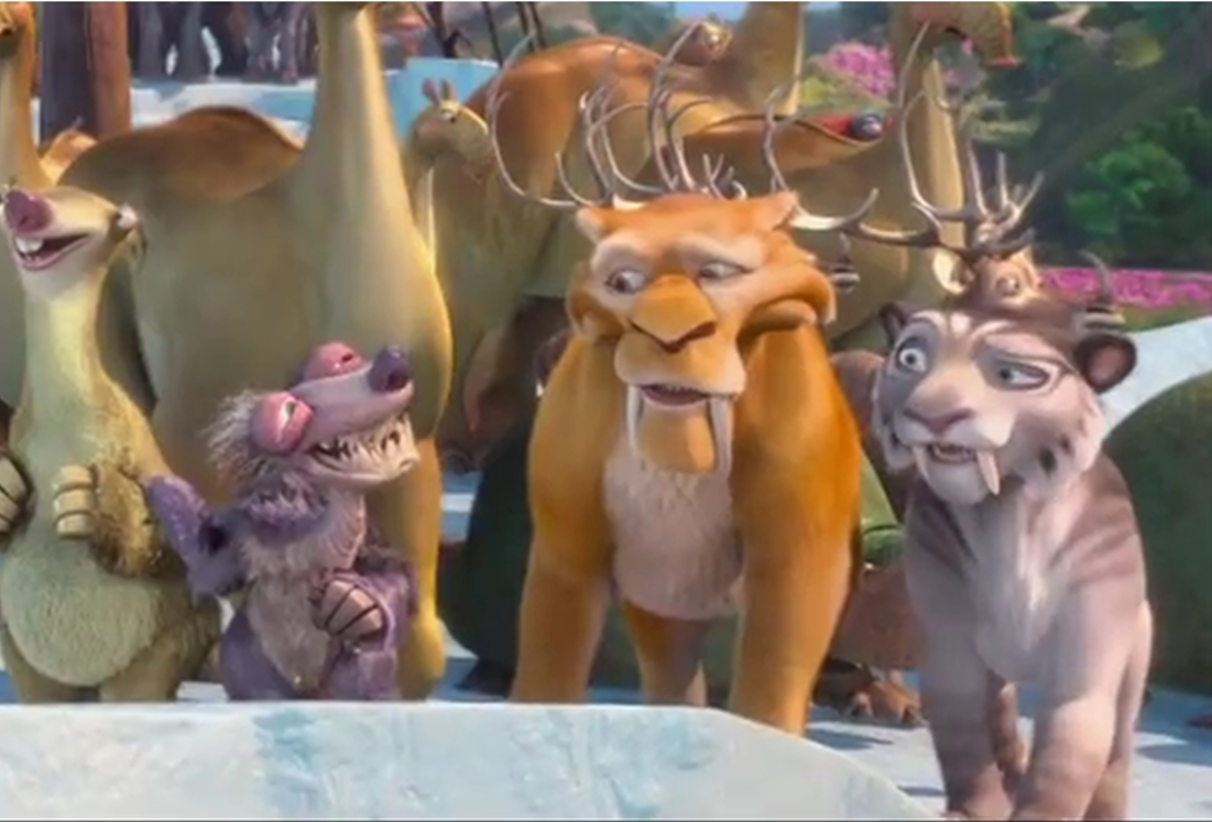 ice age 4 shira and diego kiss - photo #21