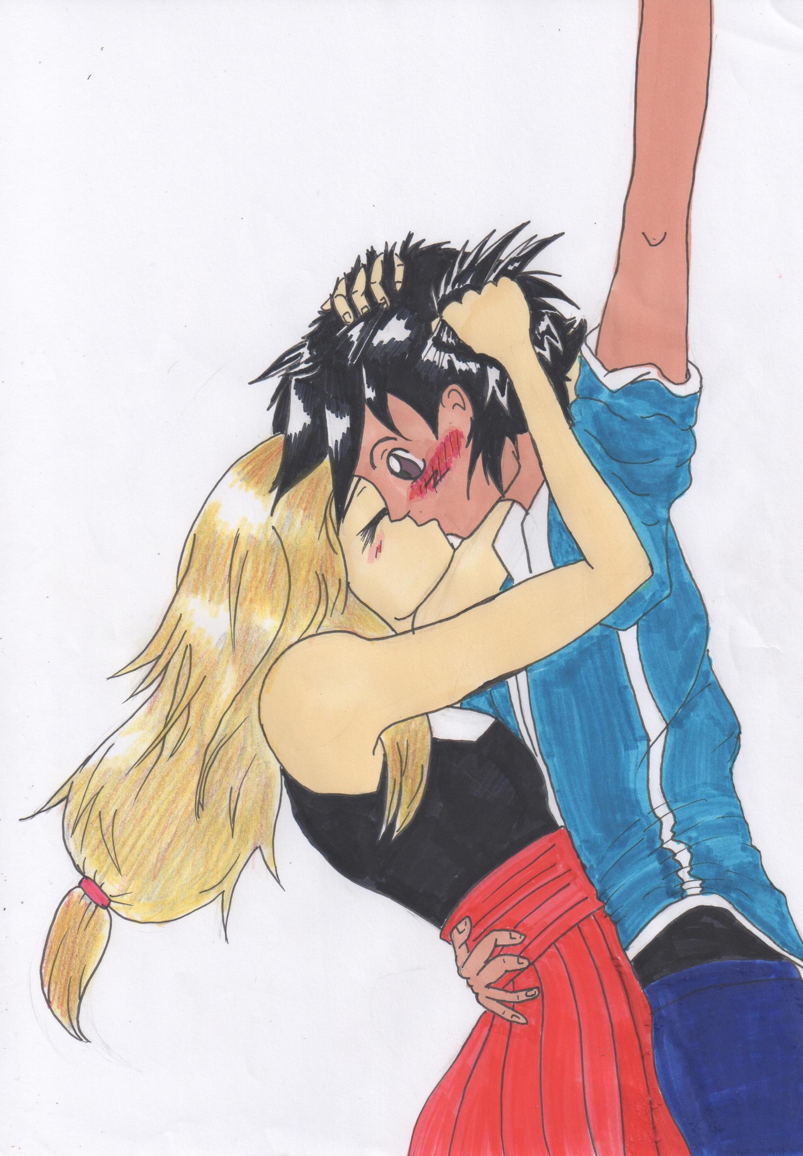 Ash/Satoshi x serena by Louise008